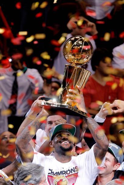 2011-12. El Heat alcanzó su segunda final consecutiva, ahora ante el Thu...
