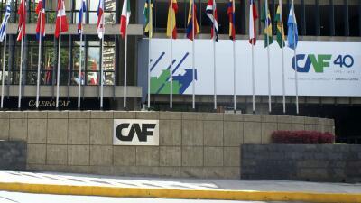 Sede de la CAF en Caracas