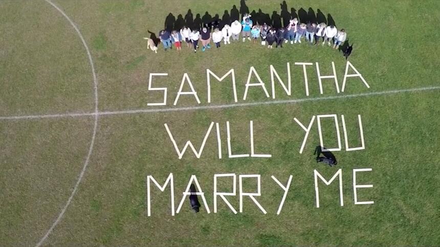 Crea una película para proponerle matrimonio