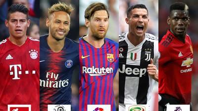 El 'All Star' de las cinco ligas top de Europa ¿Cuál es el mejor equipo?