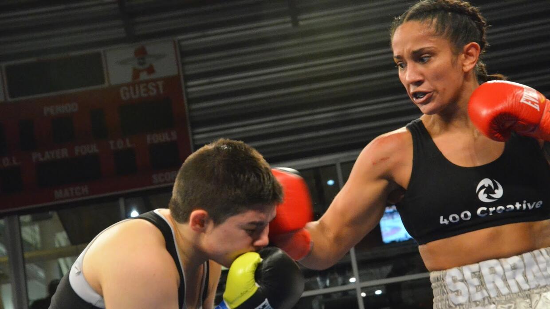 Boxeadora puertorriqueña residente en Brooklyn, Nueva York