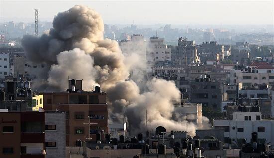 Sin embargo, hace tres días Israel comenzó una ofensiva co...