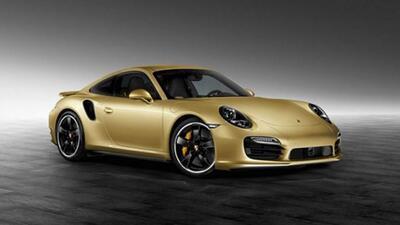 El Turbo Gold nos muestra lo que puede hacer Porsche la división Exclusive.