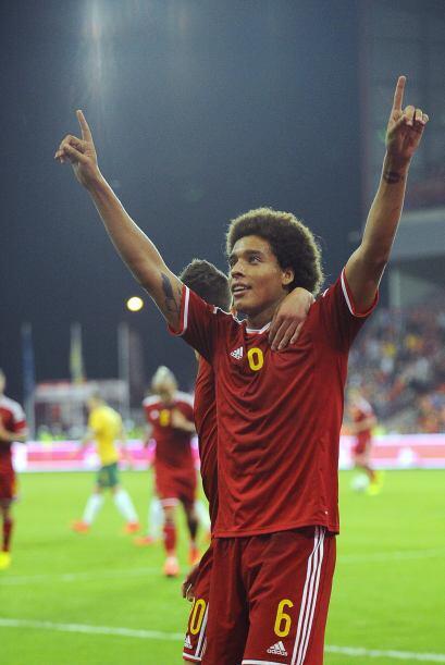 Bélgica triunfó 2-0 sobre Australia.