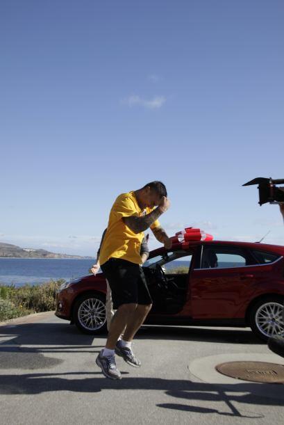 El reto de la semana consistió en buscar las llaves de un auto enterrada...
