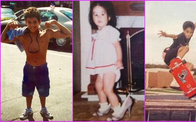 MQB cuando eran niños