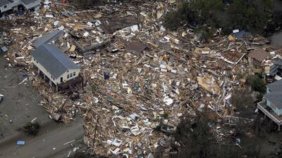 El huracán Ike devastó las costas texanas hace casi una década y aún no existe una estrategia concreta para proteger la región
