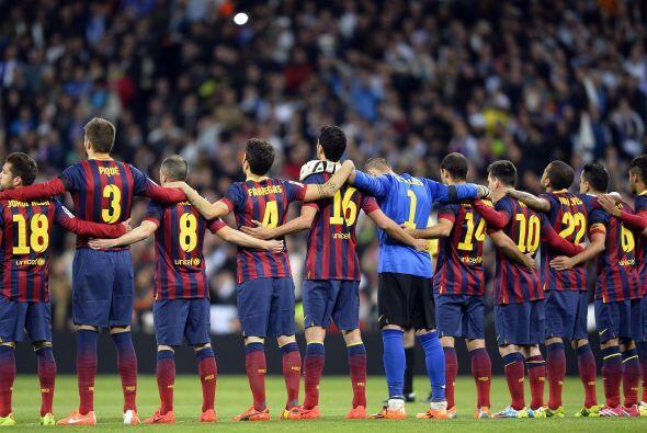 El Barcelona se metía al Santiago Bernabéu a cuatro puntos del líder, el...