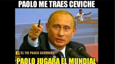 Memes del anuncio de que Paolo Guerrero podrá jugar el Mundial con Perú