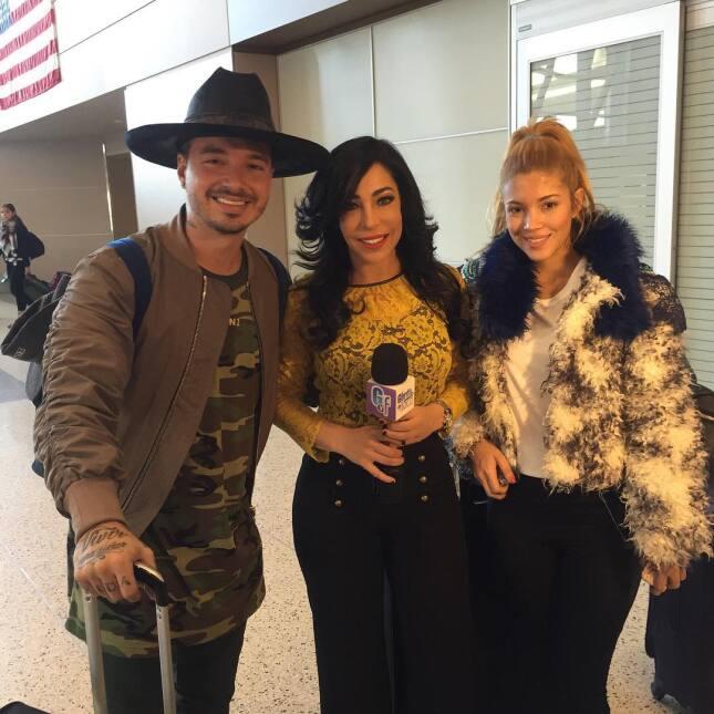 Gelena Solano ha podido entrevistar a los invitados del Latin Grammy.