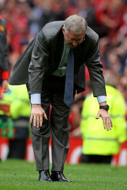 Y no sabemos si el propio Sir Alex Ferguson también quería participar o...
