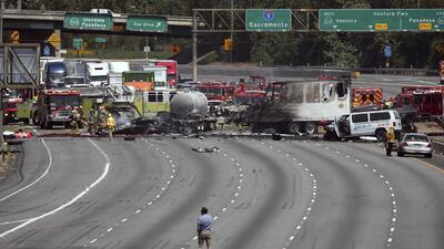 En fotos: Los peores accidentes de tránsito de 2017 en California