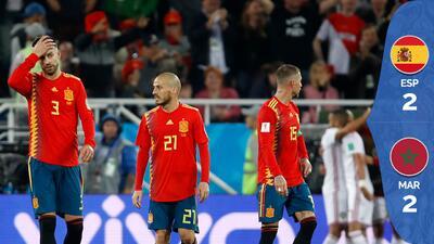 VAR, drama y empate para España que enfrentará a Rusia en los octavos de final