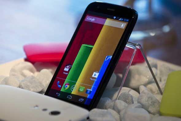 El nuevo Moto G es la respuesta de Motorola al iPhone 5C. Con su pantall...