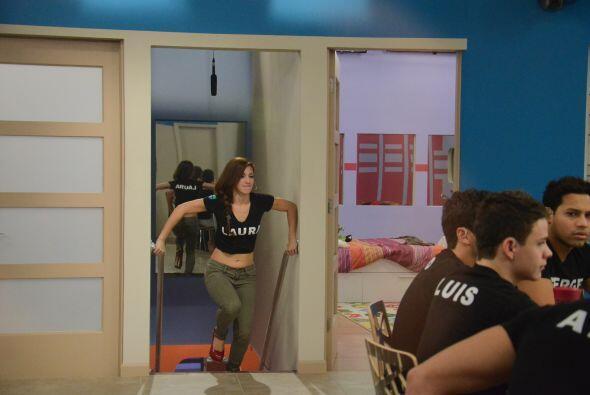 Laura se perdió el show pero luego fue ella quien lo dio.