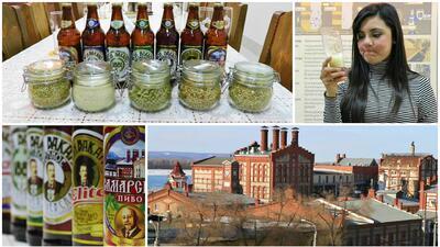 Cristina Romero descubrió cómo se prepara una de las mejores cervezas que se venden en Rusia