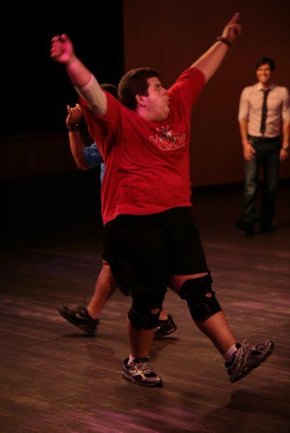 Dieter hizo lo que nunca y se entregó por completo en la pista de baile...