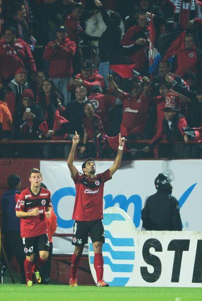 Christian Pellerano.- El mediocampista de Tijuana anotó el gol con el qu...