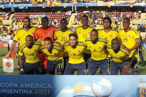 El primer enfrentamiento será entre Colombia y Perú. La selección cafete...