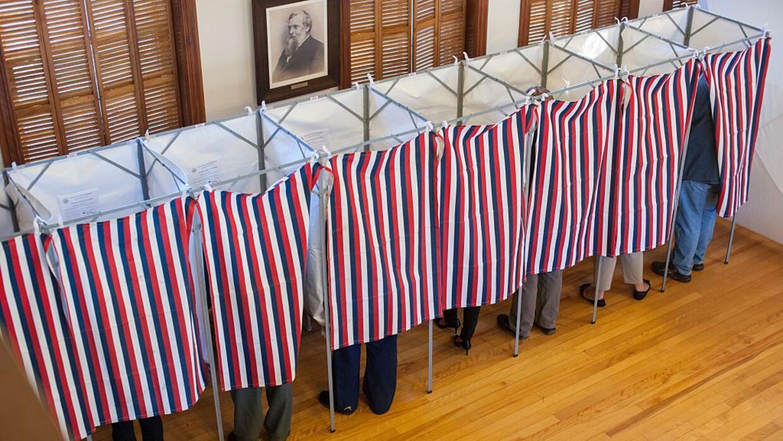 Votantes en las elecciones presidenciales de 2016.