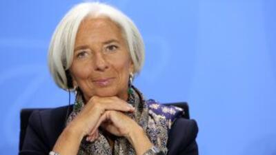 Christine Lagarde, la directora gerente del Fondo Monetario Internacional.