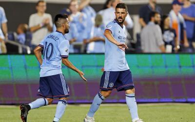 David Villa lideró nueva victoria de NYCFC ante Chicago Fire