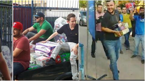 Banda de regional mexicano se unen a la recolecta para ayudar a los damn...