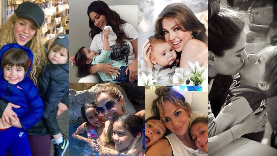 Mamás famosas locas de amor por sus peques