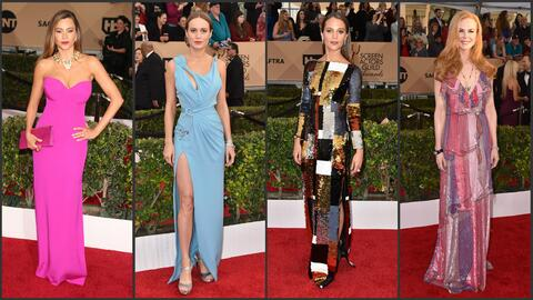 Fashionometro, los mejor y peor vestidos de los premios SAG
