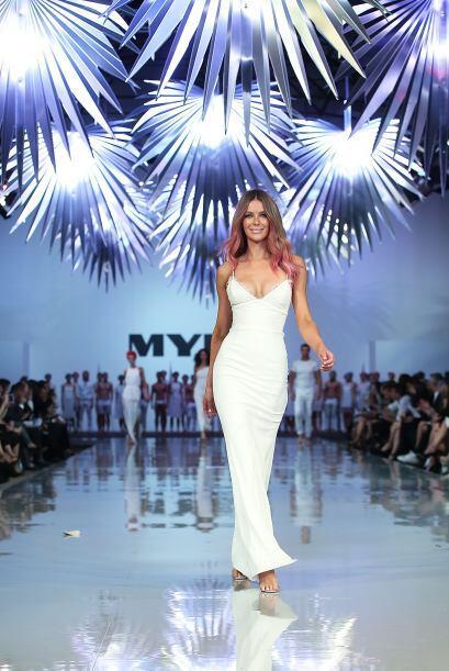 Jennifer no sólo estuvo presente en el diseño de las prendas, sino que t...