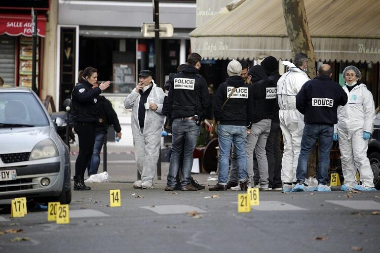 Imágenes de los ataques de París.