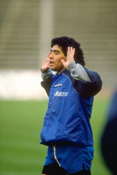 Con el Napoli disputó dos Copas de Europa, pero en ninguna destac...