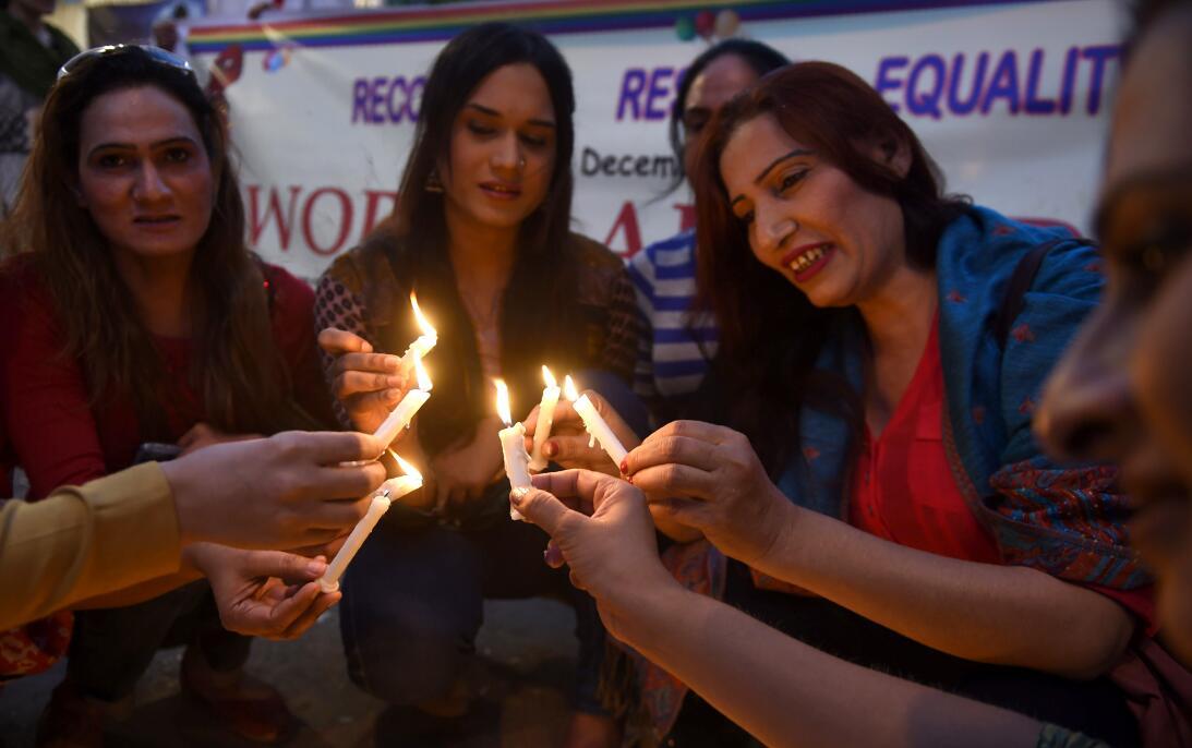 Dia del Sida Pakistan