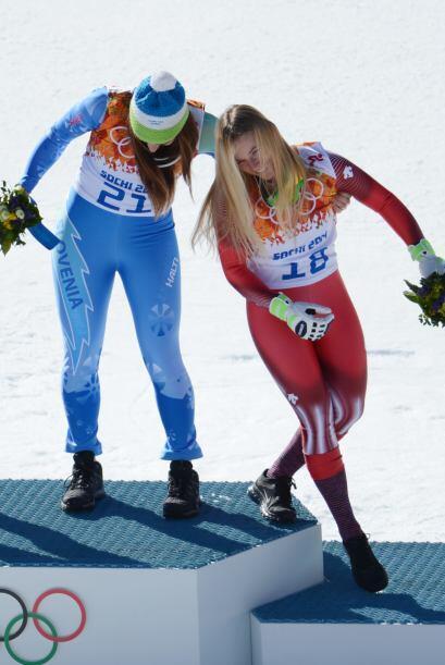 Los deportistas suelen ser muy efusivos cuando viven un momento, ya sea...