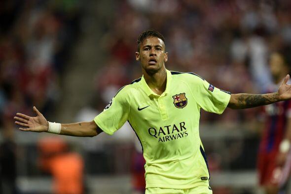 Neymar es un extremo peligrosísimo con un talento extraordinario por la...