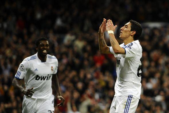 Y el argentino Angel Di María cerró el marcador con una gra definición.