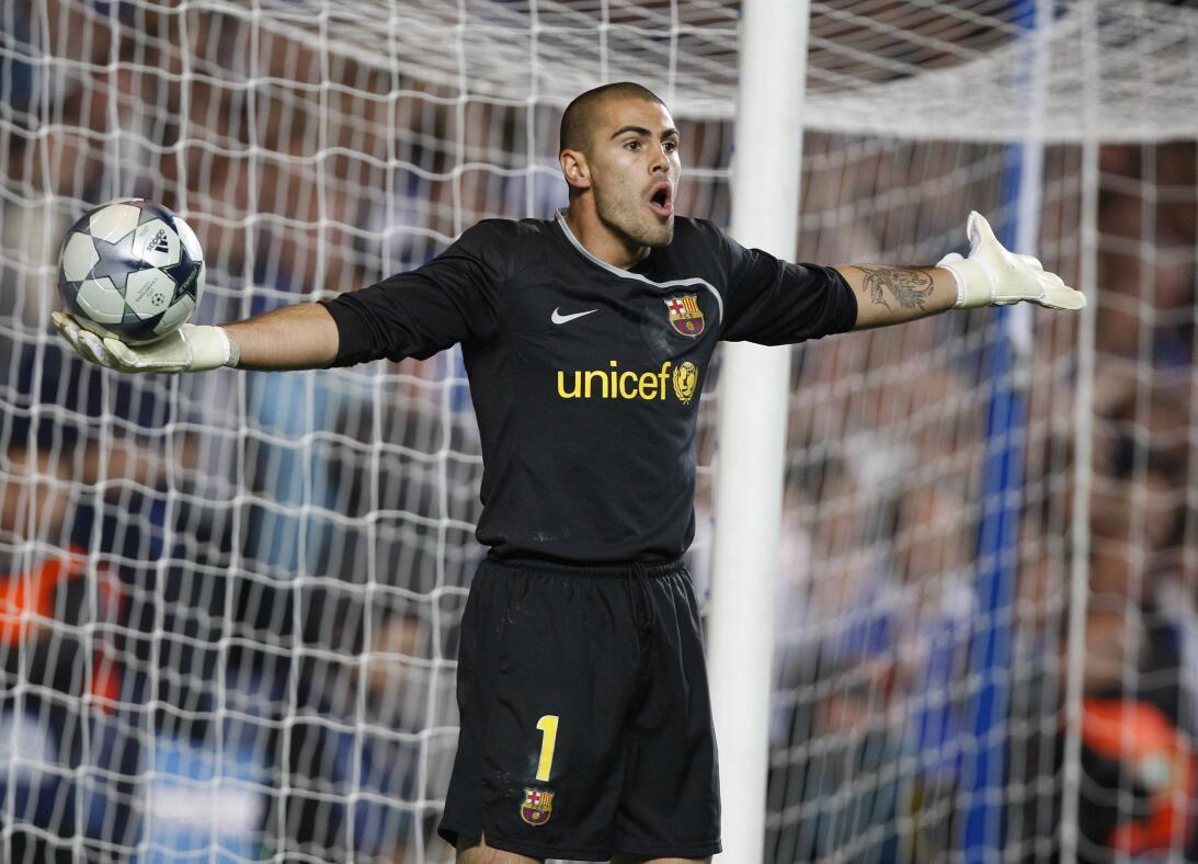 Víctor Valdés: se retiró del fútbol profesional en enero de 2018 después...