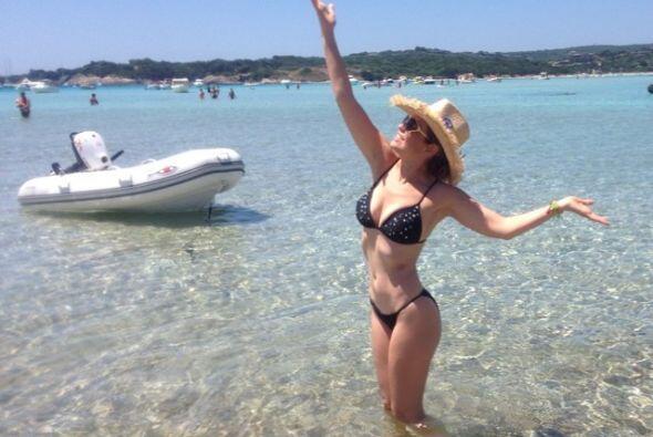 Thalía es otra de las famosas por la que los años no pasan y a sus 43 lu...