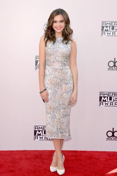 ¿A quién nos recuerda el look de la actriz Bailee Madison? ¡Ah sí!, así...