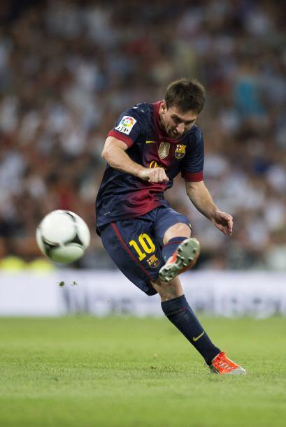 Un tiro libre cobrado por Lionel Messi era la oportunidad para despertar...