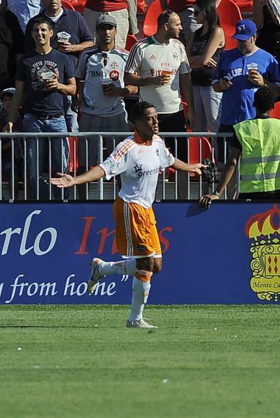 Calen Carr puso el gol definitivo para la victoria del Dynamo con lo que...