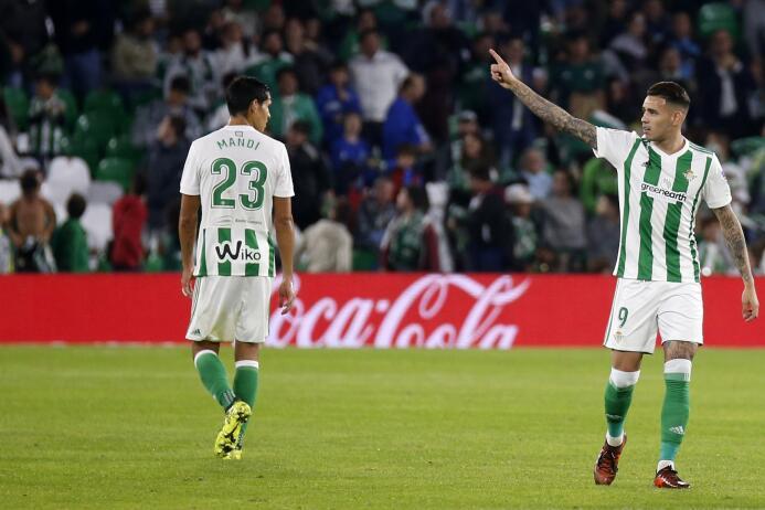 Con Guardado, el Betis rescató un punto en su estadio ante el Getafe dnv...