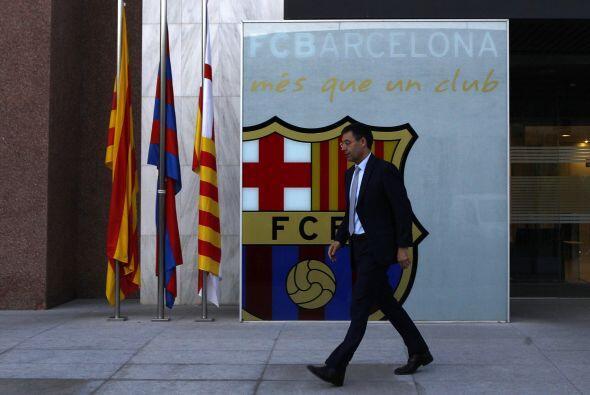El presidente del FC Barcelona Josep Bartomeu agradeció las muestras de...