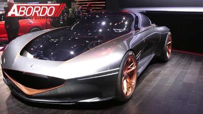 Un espectacular auto concepto en NY, el Genesis Essentia: Auto Show de Nueva York