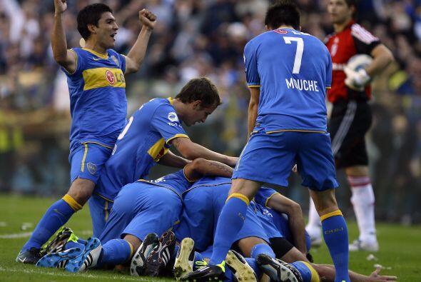 Boca ganó por 2-0 el clásico del fútbol argentino que cumplió su edición...