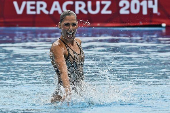 La mexicana Nuria Diosdado logró su quinta medalla de oro en la p...