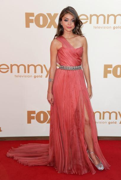Este 'outfit' de Sarah Hyland, sin duda alguna, tenía que ser uno de los...