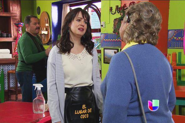 Miguelina le dejó bien en claro que ella jamás será su madre.