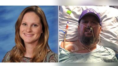 Heather Holland, de 38 años, y Brian Herndon, 51 años, sufrieron un choq...