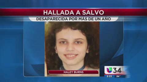 Después de un año encuentran a joven reportada como desaparecida